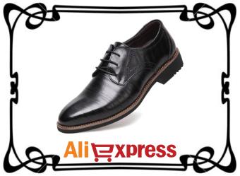 Качественные мужские оксфорды с AliExpress
