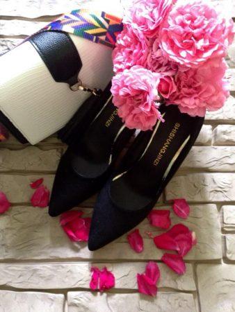 Изящные женские туфли на высоком каблуке с AliExpress на фото