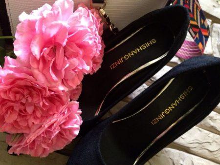 Изящные женские туфли на высоком каблуке с AliExpress вблизи