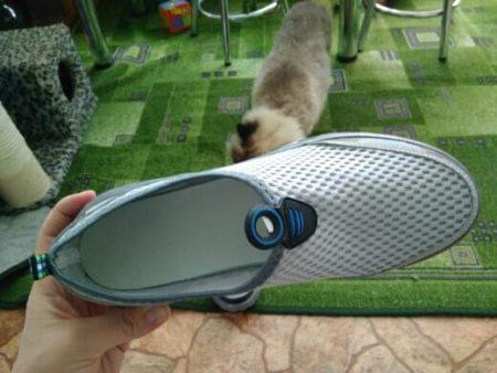Стильные мужские кроссовки с AliExpress вблизи
