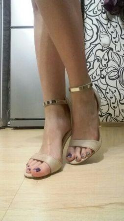 Элегантные женские босоножки с AliExpress на мне