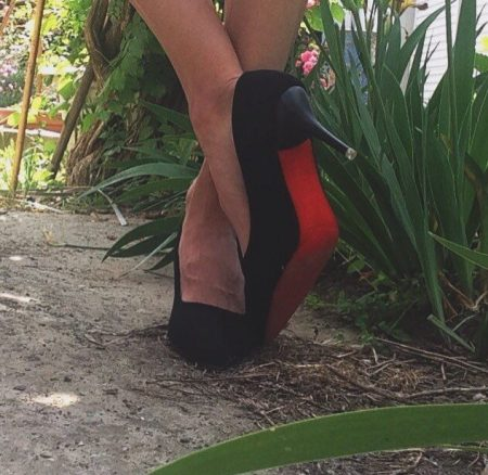 Изящные женские туфли на высоком каблуке с AliExpress качество