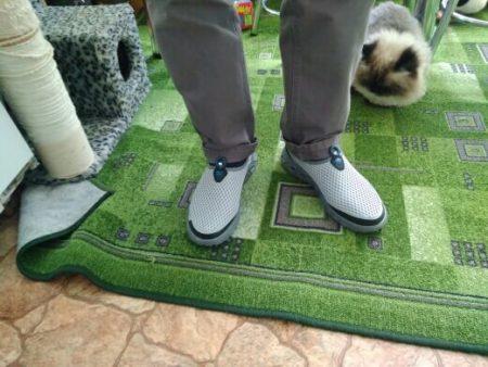 Стильные мужские кроссовки с AliExpress на мне