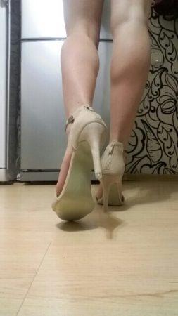 Элегантные женские босоножки с AliExpress сзади