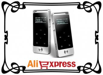 Хороший MP3-плеер с сенсорным экраном с AliExpress
