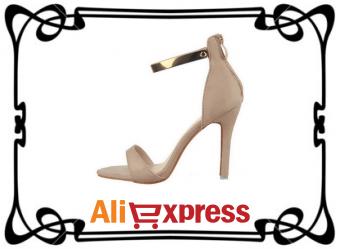 Элегантные женские босоножки с AliExpress