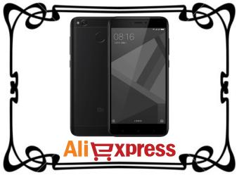 Смартфон Xiaomi Redmi 4X 16GB с AliExpress