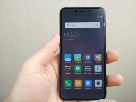 Смартфон Xiaomi Redmi 4X 16GB с AliExpress размер