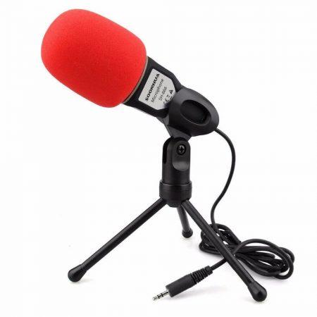 Конденсаторный студийный микрофон с AliExpress на картинке