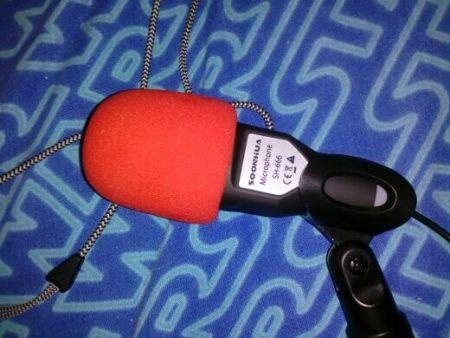 Конденсаторный студийный микрофон с AliExpress качество