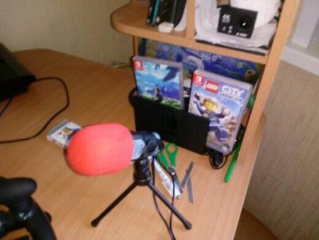 Конденсаторный студийный микрофон с AliExpress работа