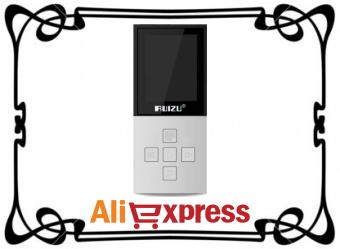 RUIZU X18 Mp3-плеер с Bluetooth 4.0 с AliExpress